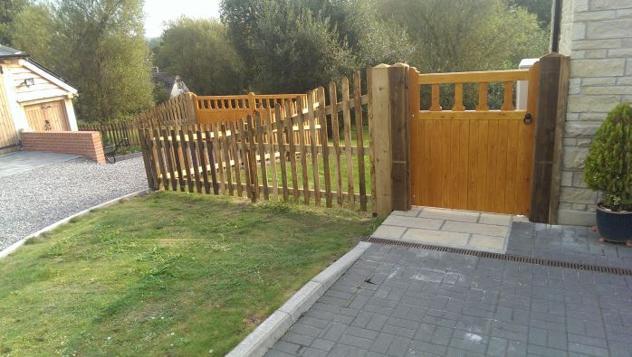 Domestic Garden Fencing Salisbury