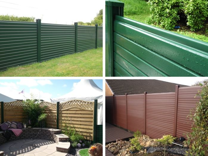 Selection of Liniar UPVC Fences
