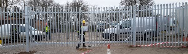 Steel Palisade Fencing and Gates