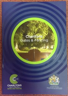 The New 2015  Gates & Fencing Catalogue From Charltons