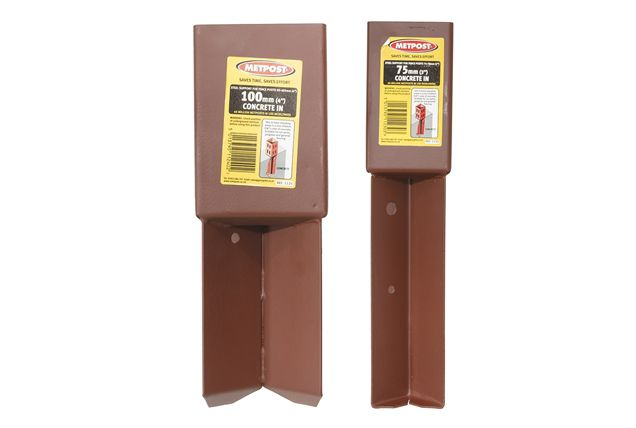 Concrete In Anchors For 75mm And 100mm Wooden Fence Posts