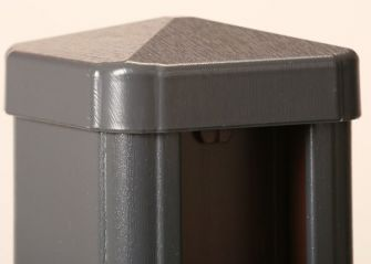 Liniar 7016 Grey uPVC Fence Post Cap