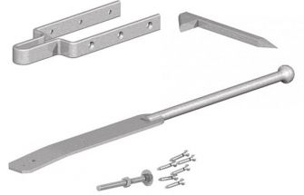 Spring Fastener Set with Drive Catch